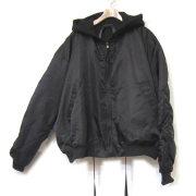 【セール】Cuirs(キュイー)メンズジャケット オリジナルリバーシブルナイロンダブルスウエットドローコードブルゾン新作デザイン