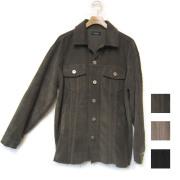 【新着】Cuirs(キュイー)メンズジャケット オリジナルコーデュロイカットオフメタルボタンCPOジャケット新作デザイン