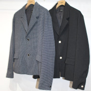 【新着】Cuirs(キュイー)メンズジャケット ジャガードクロックドジャケット新作デザイン
