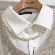 【再入荷】Cuirs(キュイー)メンズネックレス パールネックレス(44センチ) 新作デザイン