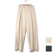 【再入荷】Cuirs(キュイー)メンズスラックス ボックスタックワイドパンツ 新作デザイン
