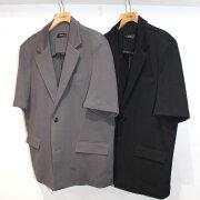 【再入荷】Cuirs(キュイー)メンズジャケット ハーフスリーブセットアップジャケット 新作デザイン