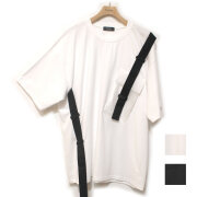 【セール】【新着】Cuirs(キュイー)メンズTシャツ オリジナルドローテープシリコンポケットTシャツ新作デザイン
