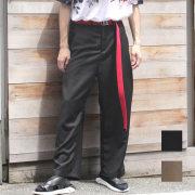 【新着】Cuirs(キュイー)メンズパンツ オリジナルグツータックワイドテーパードパンツ新作デザイン