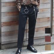 【新着】Cuirs(キュイー)メンズスラックス オリジナルワンタックテーパードサイドアジャスト付きスラックス新作デザイン