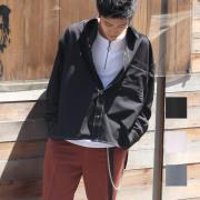 【新着】Cuirs(キュイー)メンズシャツ オリジナルホワイトステッチさらさらレギュラーシャツ新作デザイン