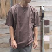 【セール】Cuirs(キュイー)メンズTシャツ オリジナルオーバーサイズカラーTシャツ新作デザイン