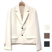 【新着】Cuirs(キュイー)メンズジャケット クロックドジャケット 新作デザイン