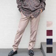 【新色入荷】【SamuraiELO8月号7月号Winkup7月号雑誌掲載】【新着】Cuirs(キュイー)メンズスラックス セットアップスタンダードテーパードパンツ新作デザイン