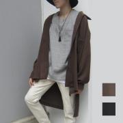 【新着】Cuirs(キュイー)メンズシャツ オリジナルロング丈カットシャツアウター新作デザイン
