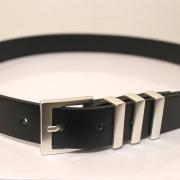 【新着】Cuirs(キュイー)メンズベルト 3連メタルベルト 新作デザイン