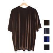 【新着】Cuirs(キュイー)メンズTシャツ ベロアTシャツ 新作デザイン