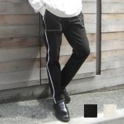 【新着】Cuirs(キュイー)メンズパンツ オリジナルステッチペンタ—スキニーパンツ新作デザイン