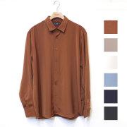 【再入荷】Cuirs(キュイー)メンズシャツ オリジナルさらさらレギュラーカラーシャツ新作デザイン