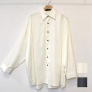 【新着】Cuirs(キュイー)メンズシャツ オリジナルサテンビックシャツ新作デザイン