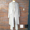 【再入荷】Cuirs(キュイー)メンズコート オーバーサイズWロングコート新作デザイン
