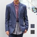【Winkup3月号雑誌掲載】【新着】Cuirs(キュイー)メンズジャケット セットアップウインドウペンテーラードジャケット新作デザイン