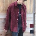 【セール】Cuirs(キュイー)メンズシャツ オリジナルコーデュロイオーバーサイズシャツ新作デザイン