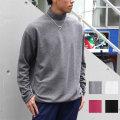 【SamuraiELO1月号雑誌掲載】Cuirs(キュイー)メンズニット オリジナルロング丈ハイネックニット新作デザイン