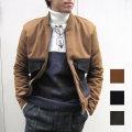 【新着】Cuirs(キュイー)メンズブルゾン オリジナルショート丈切り替えブルゾン新作デザイン