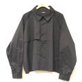 Cuirs(キュイー)メンズシャツ オリジナルショート丈シャツアウターヨーク付きデザイン