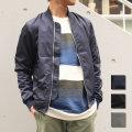 【セール】【再入荷】【SamuraiELO5月号4月号雑誌掲載】【新着】Cuirs(キュイー)メンズジャケット オリジナルスリムMA-1ジャケット新作デザイン