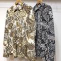 【再入荷】Cuirs(キュイー)メンズシャツ さらさらプリントシャツ 新作デザイン