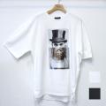 【再入荷】Cuirs(キュイー)メンズTシャツ オリジナルパロディープリントTシャツ(ルパン)新作デザイン