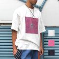 【セール】【新着】Cuirs(キュイー)メンズTシャツ オリジナルカラープリントTシャツ新作デザイン