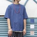 【セール】Cuirs(キュイー)メンズTシャツ オリジナル無地カラーオーバーサイズTシャツ新作デザイン
