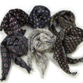 【再入荷】【SamuraiELO8月号7月号2月号雑誌掲載】Cuirs(キュイー)メンズスカーフ 総柄スカーフポケットチーフ新作デザイン