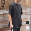 【新着】Cuirs(キュイー)メンズシャツ オリジナルステッチドルマンTシャツ新作デザイン