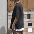【新着】Cuirs(キュイー)メンズシャツ オリジナルレイヤードTシャツ新作デザイン