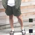 【セール】Cuirs(キュイー)メンズパンツ オリジナルTRセットアップイージーハーフパンツ新作デザイン