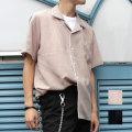 【セール】【新着】Cuirs(キュイー)メンズシャツ 開衿パジャマ半袖シャツ新作デザイン