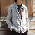 【新着】Cuirs(キュイー)メンズシャツ 総柄さらさらシャツ新作デザイン