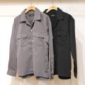 【新着】Cuirs(キュイー)メンズシャツ オリジナルダブルフラップポケットオープンシャツ新作デザイン
