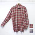 【セール】Cuirs(キュイー)メンズシャツ オリジナルマドラスチェックシャツ新作デザイン