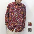【新着】Cuirs(キュイー)メンズシャツ オリジナルドルマンスリーブプリントシャツ新作デザイン