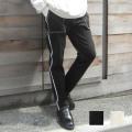 【セール】Cuirs(キュイー)メンズパンツ オリジナルステッチペンタ―スキニーパンツ新作デザイン