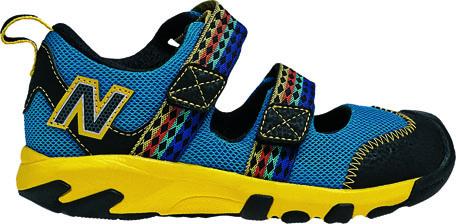 【ニューバランス(newbalance)】KD554 BLUE/YELLOW(BYP) 17.0cm~21.5cm 値下げ!サンダル子供靴