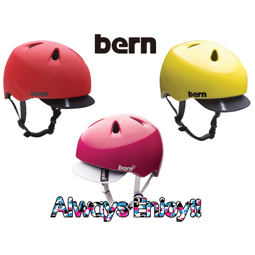 【bern (バーン)】2013復刻カラー 人気子供ヘルメット