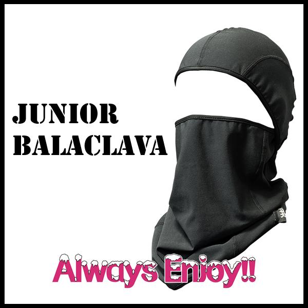子供 ジュニア マスク 防寒 A.R.K 子供用 バラクラバ スノーボード フェイスマスク