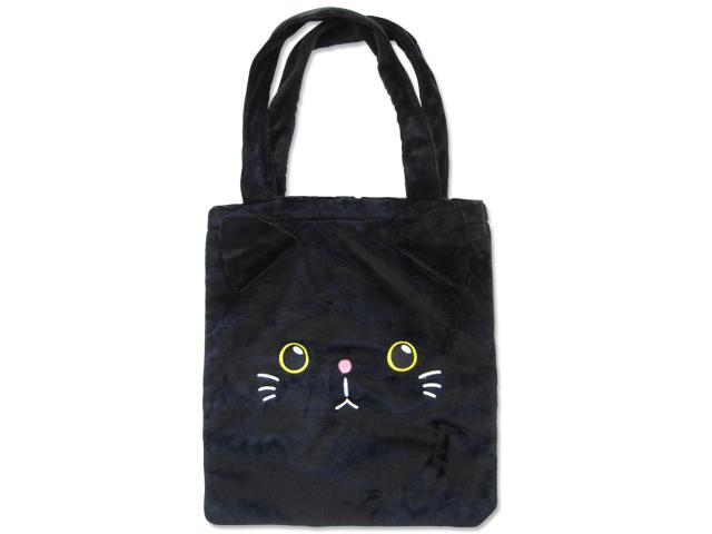 A4ワイドすっぽり ふんわりトート 猫