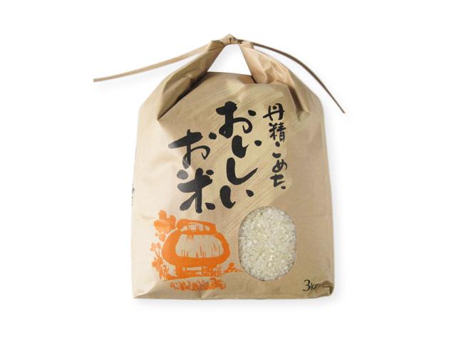 安曇野産 お米 3kg