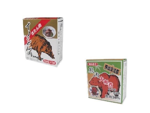 熊肉 イノシシ肉缶詰