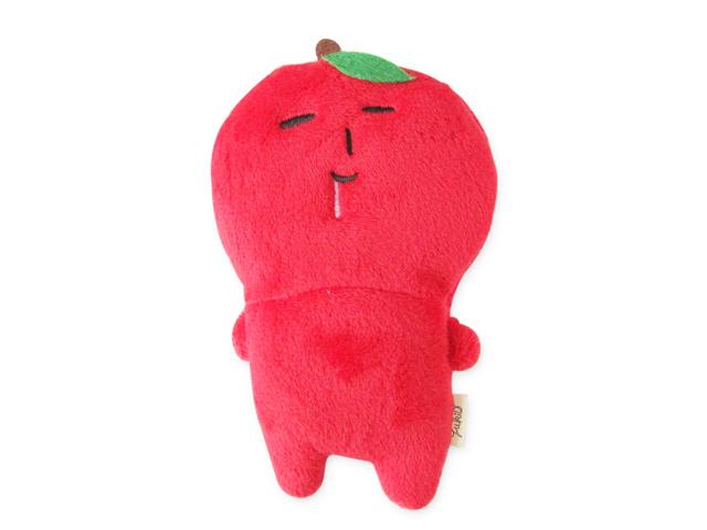 マスコット付きエコバッグ ゆきお リンゴ