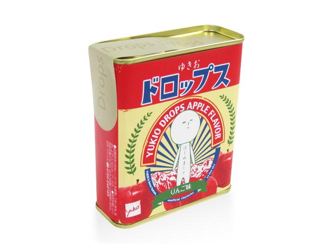 ゆきおドロップ缶NEW(リンゴ)
