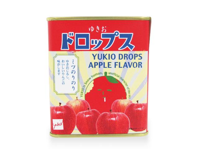 ゆきおドロップ缶NEW(リンゴ)後