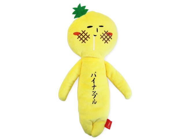 【ステイホーム応援20%OFF】マグネット入りマスコット ゆきおパイナップル(マグネット入り)